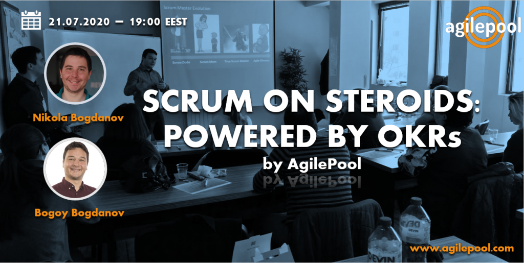 Webinar Scrum On Steroids: Powered by OKRs